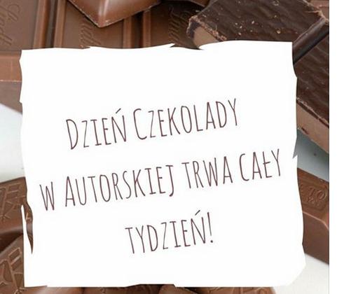 Do każdej kawy - tabliczka czekolady gratis @ Autorska