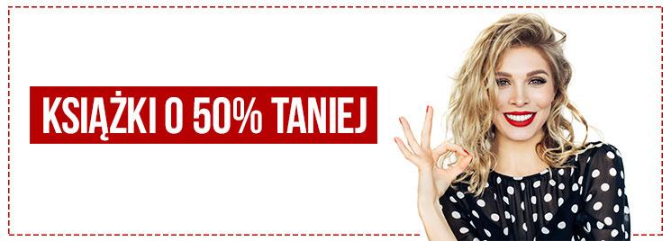 2500 książek 50% taniej - Tania Książka