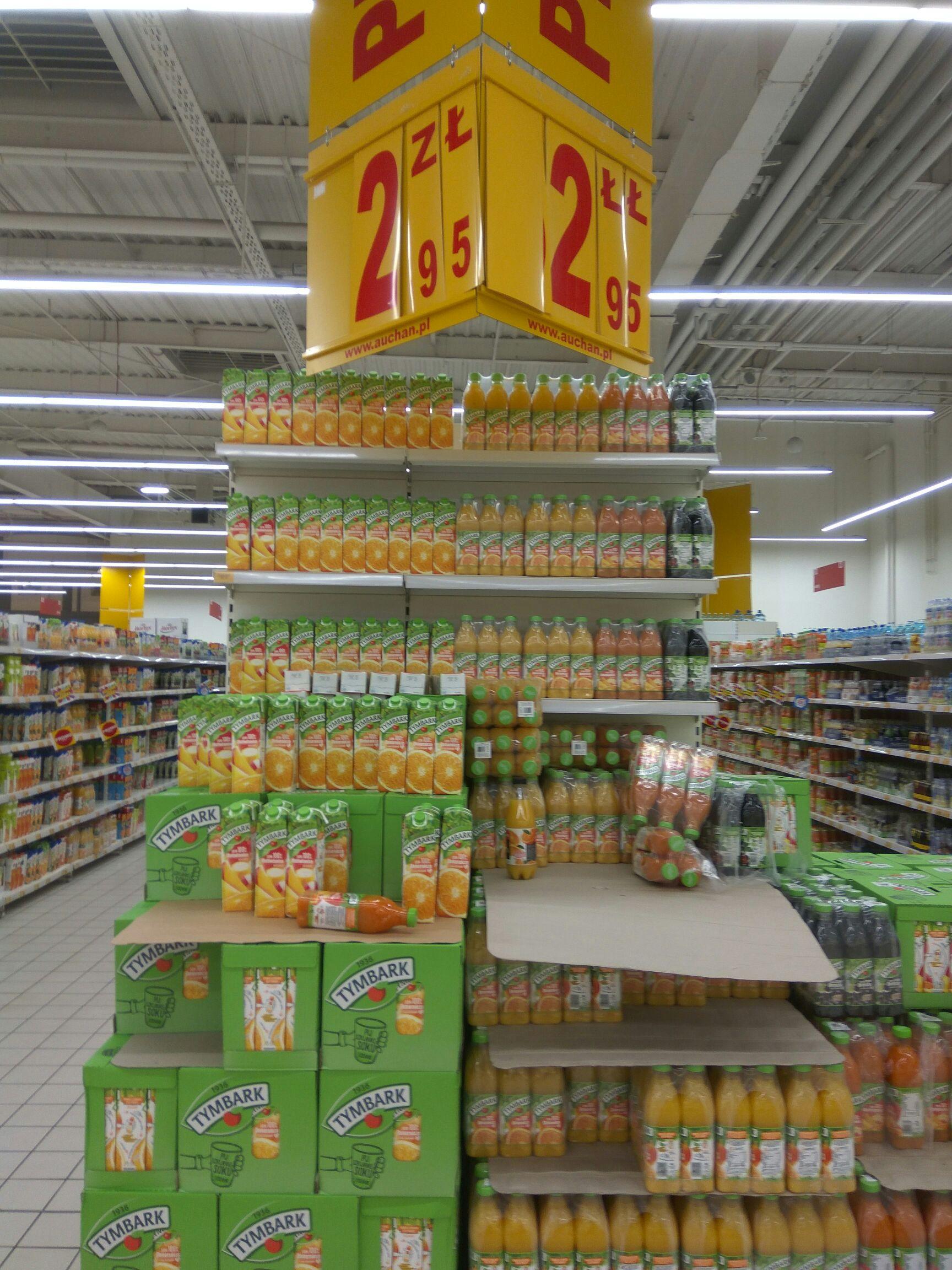 Soki Tymbark 1L - Auchan
