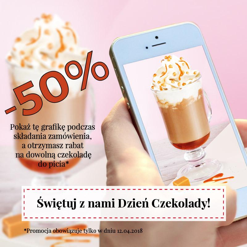 Światowy Dzień Czekolady - 50% rabatu na dowolną czekoladę do picia @ Mount Blanc