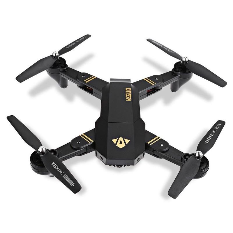 Dron VISUO XS809HW z kamerą 0.3MP za ~121,50zł lub XS809W z kamerą 2MP za ~129,50zł @ TomTop