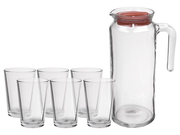 Dzbanek + 6 szklanek Sahara