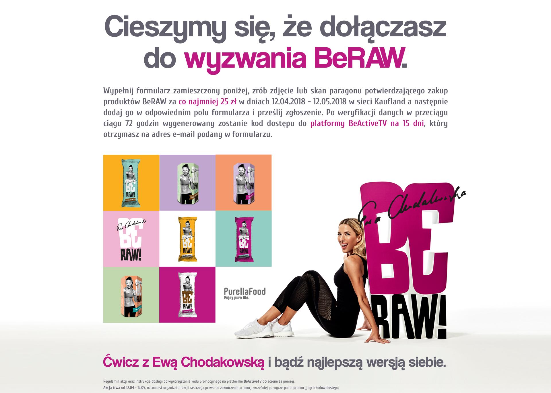 Dostęp do BeActiveTV (Ewa Chodakowska)