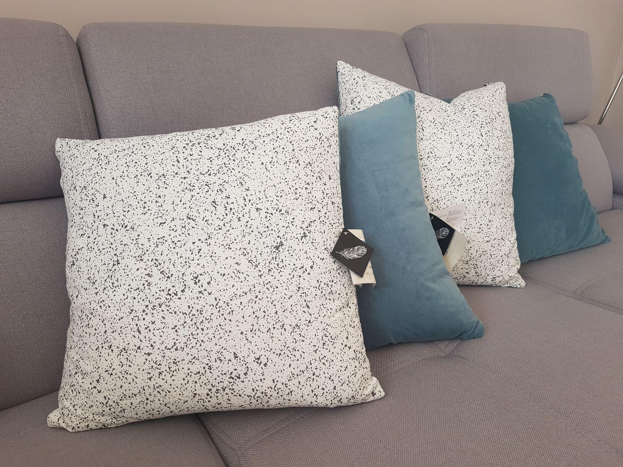 Poduszka ozdobna z pierza 100 %, poszewka 100 % bawełna