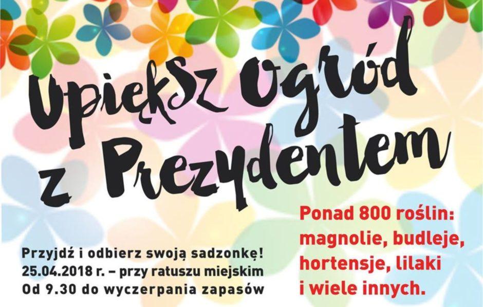 (25.04) Kołobrzeg - ponad 800 darmowych sadzonek drzew i krzewów