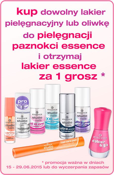 Przy zakupie kosmetyków Essence lakier do paznokci GRATIS @ Superpharm