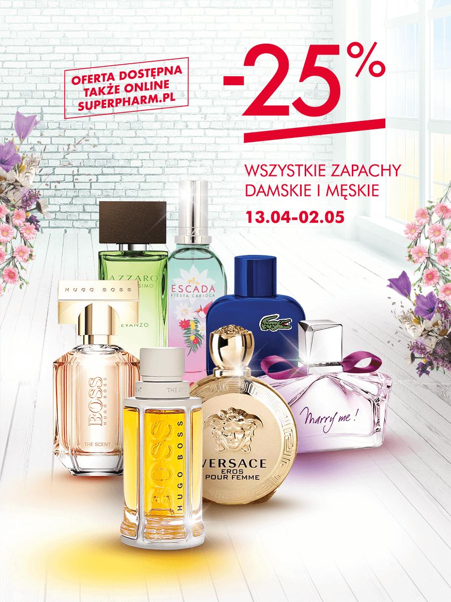 Wszystkie perfumy 25% taniej @ Super-Pharm