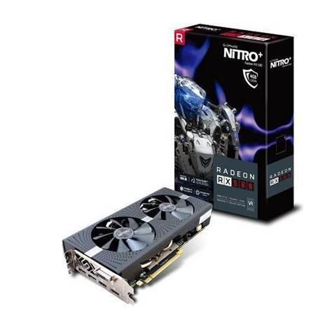 Karta graficzna Sapphire Radeon RX 580 Nitro+  4GB