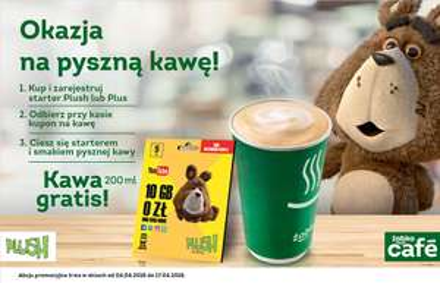 KAWA GRATIS PRZY ZAKUPIE STARTERU @ ŻABKA