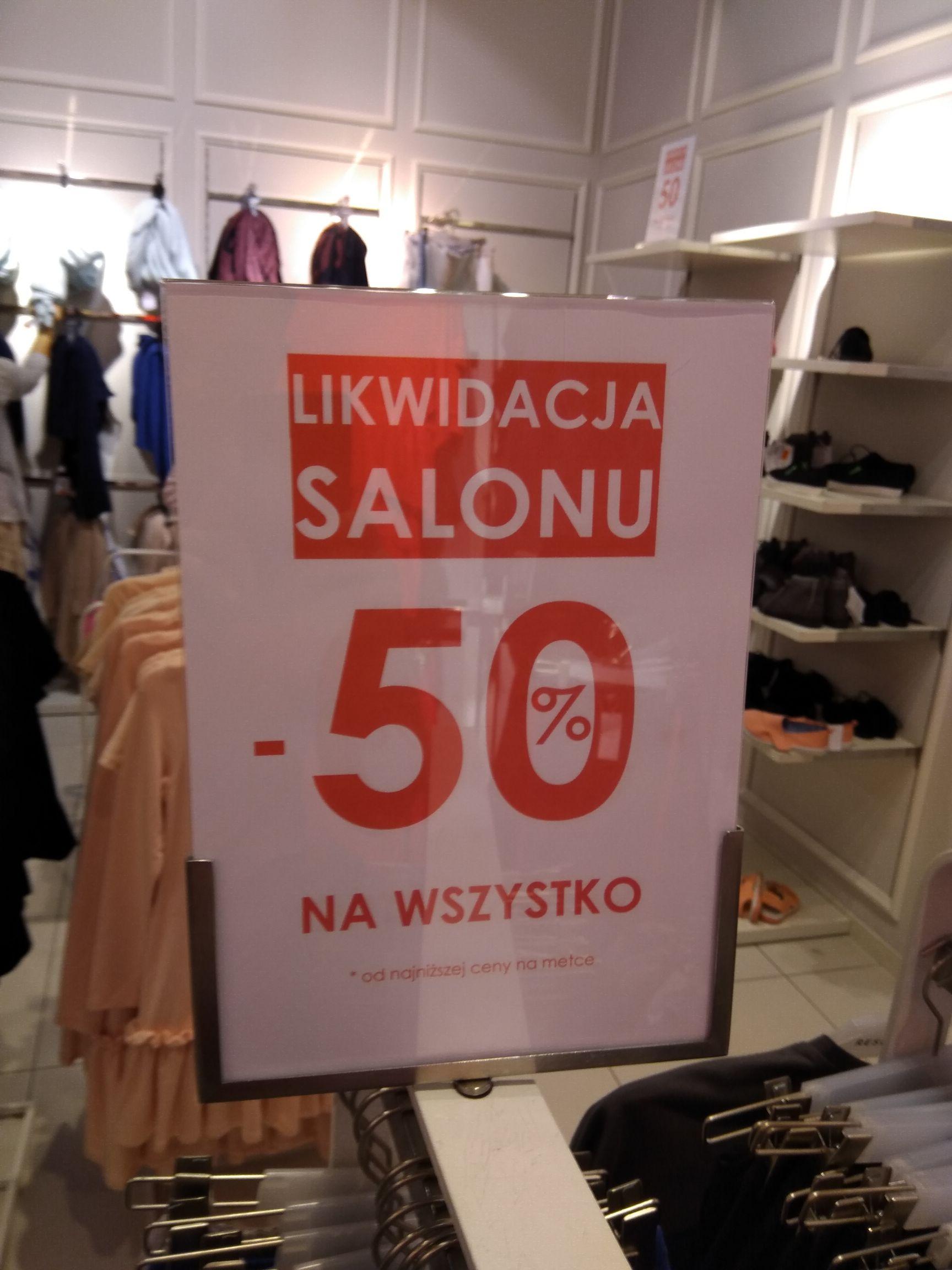 Wrocław Factory Reserved likwidacja, -50% od najniższej ceny