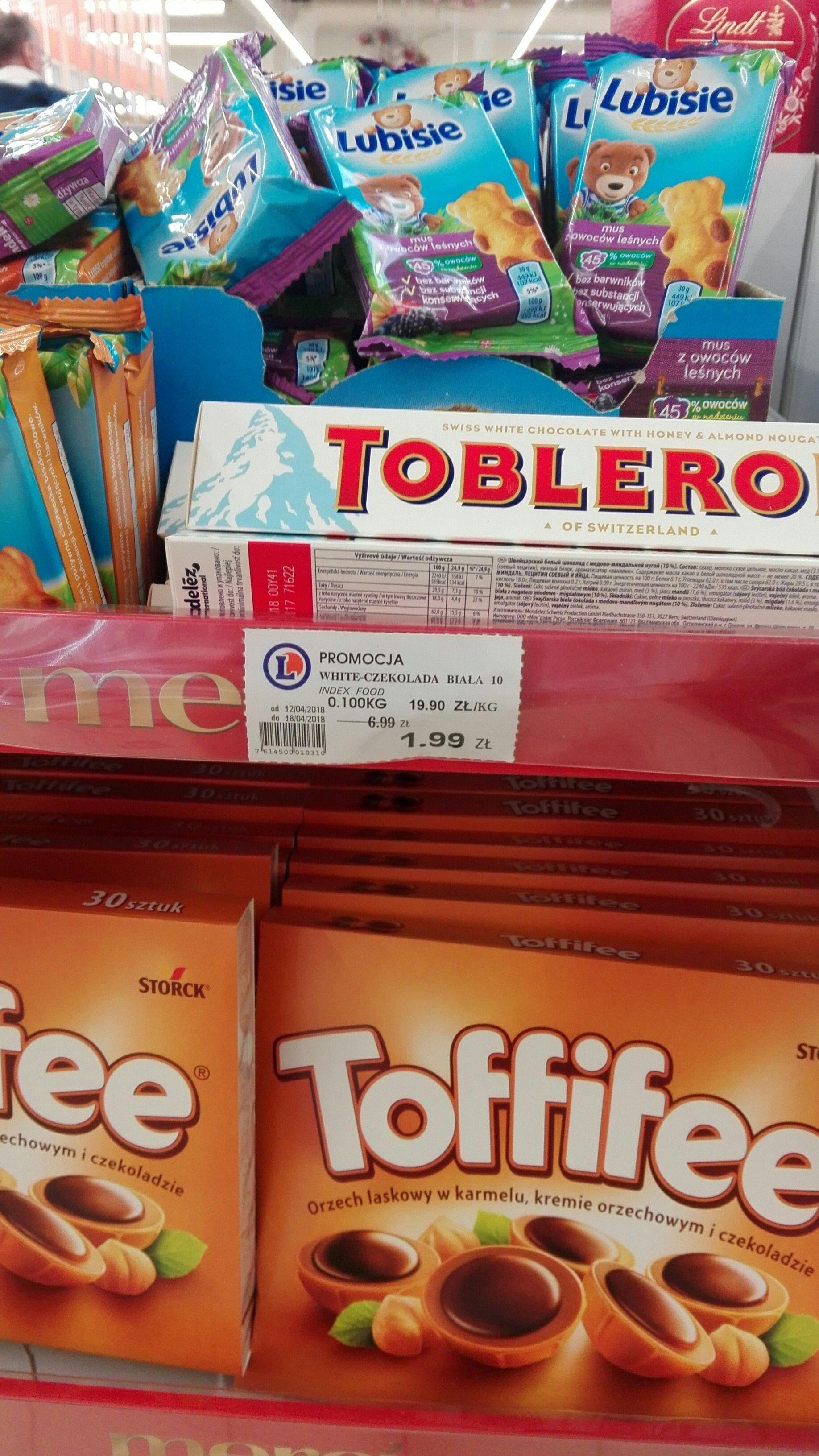 Czekolada Toblerone Leclerc