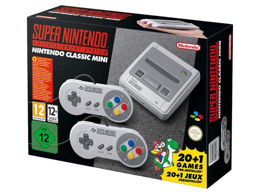 Konsola Nintendo SNES Classic Mini + 2 kontrolery, 21 gier @ibood lub @ole! ole! +10 zł