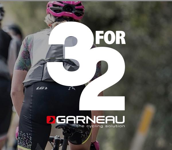 3 w cenie 2 | Louis Garneau | Promocja dla rowero maniaków
