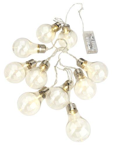 Dziesięć lampek ozdobnych LED