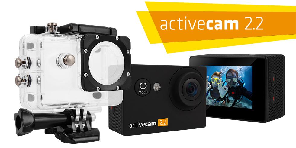 Kamera sportowa OVERMAX ACTIVECAM 2.2 + AKCESORIA za 189zł (możliwe 169zł) @ Allegro