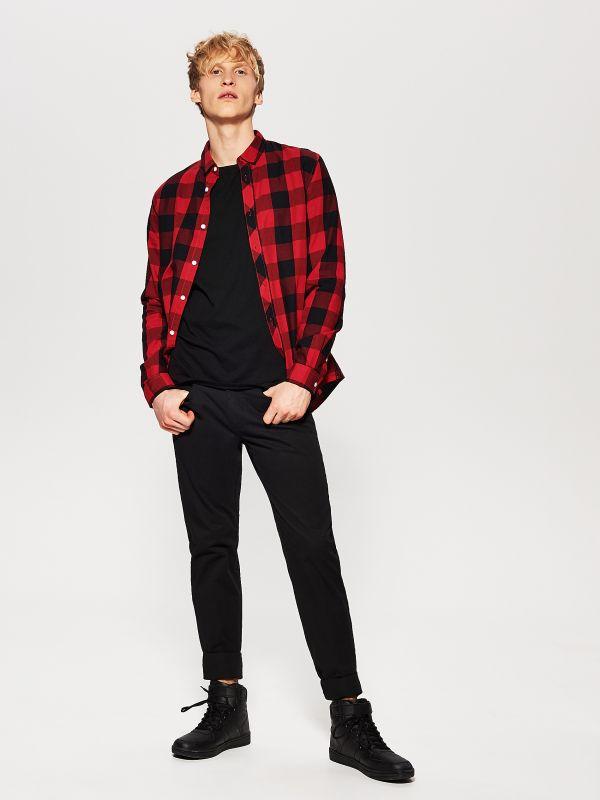 Męskie spodnie Regular za 49,99zł (4 kolory) @ House