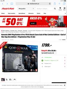 PlayStation 4 PRO 1Tb God of War edition