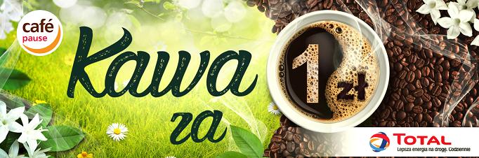 Kawa/herbata/czekolada za 1zł przy zatankowaniu min. 20l paliwa @ Total