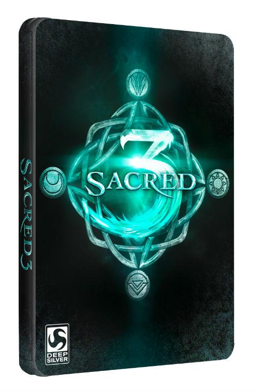 Steelbook Sacred 3 za 5 złotówek