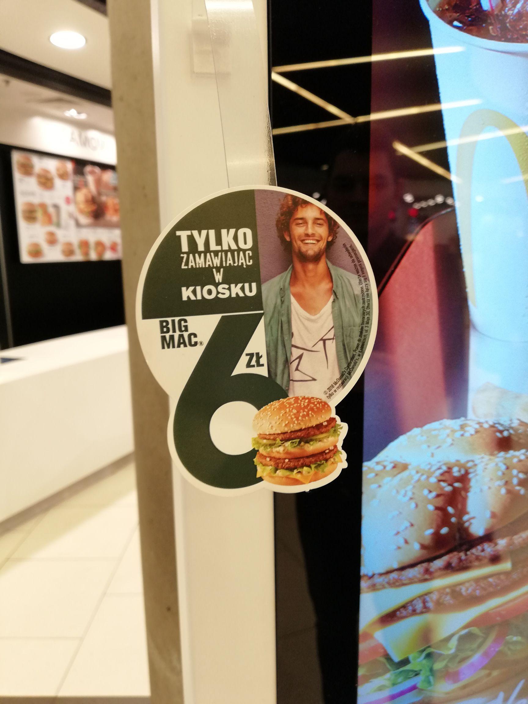 McDonald's w Galerii Katowickiej: Big Mac za 6 zł