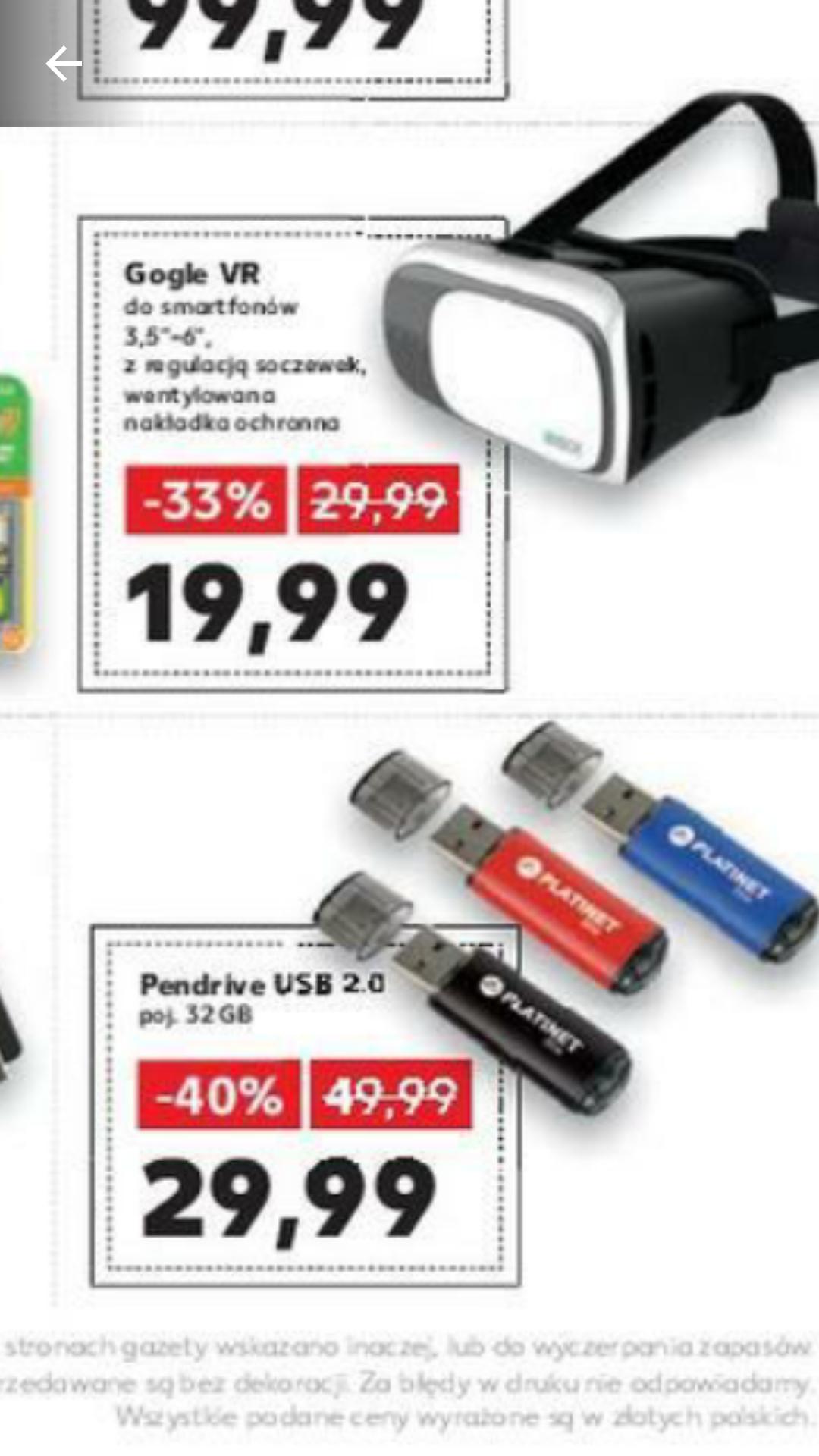 Pendrive Platinet 32 GB, USB2.0, Kaufland