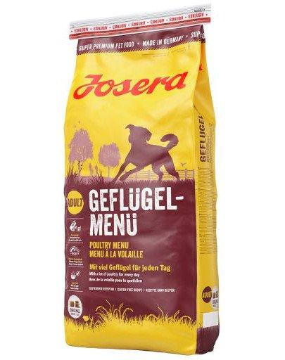 JOSERA Dog Adult Geflügel-Menü bezzbożowa karma dla psa 4 kg