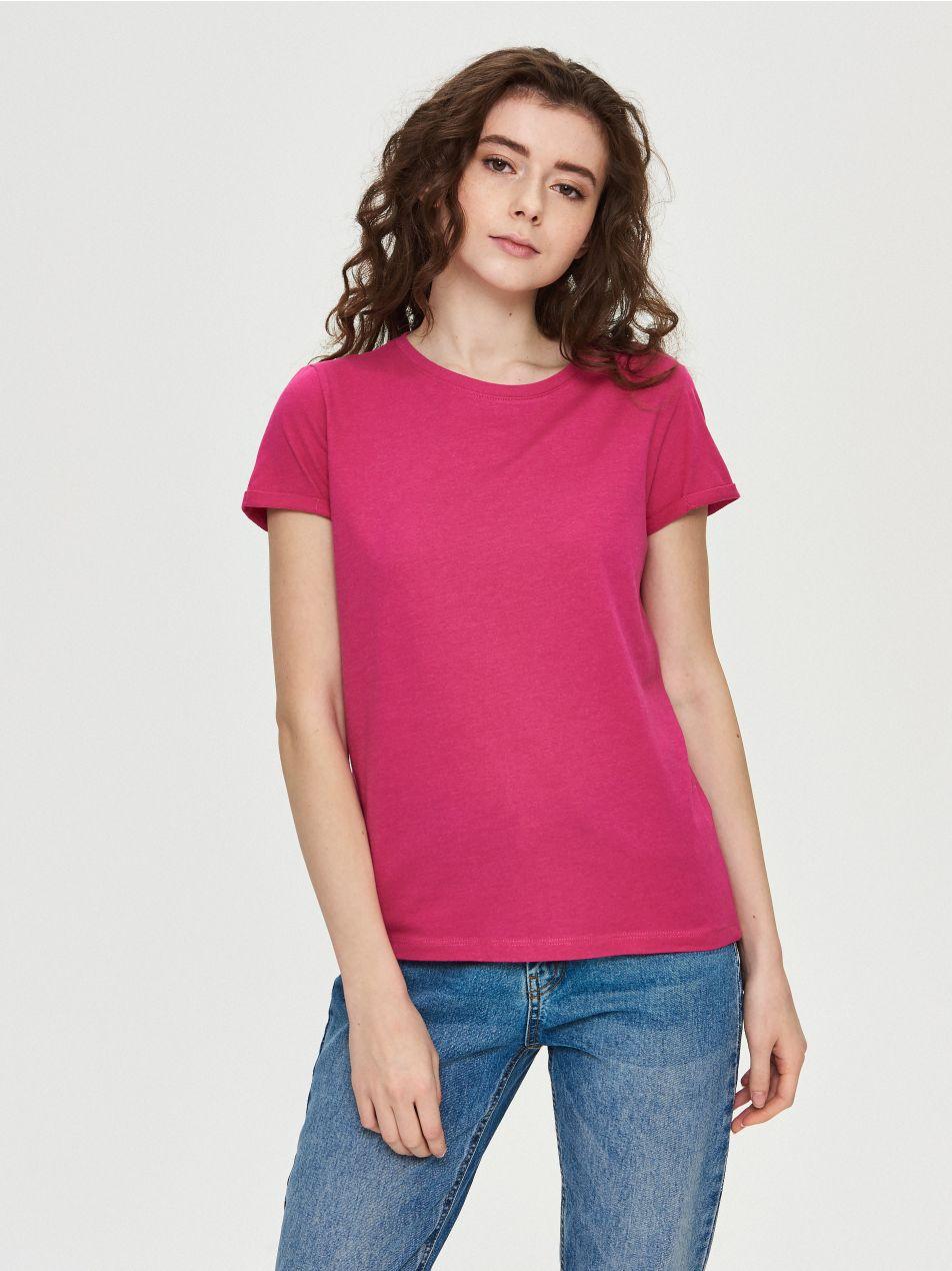 Damskie t-shirty po 9,99zł (5 kolorów, pełna rozmiarówka) @ Sinsay