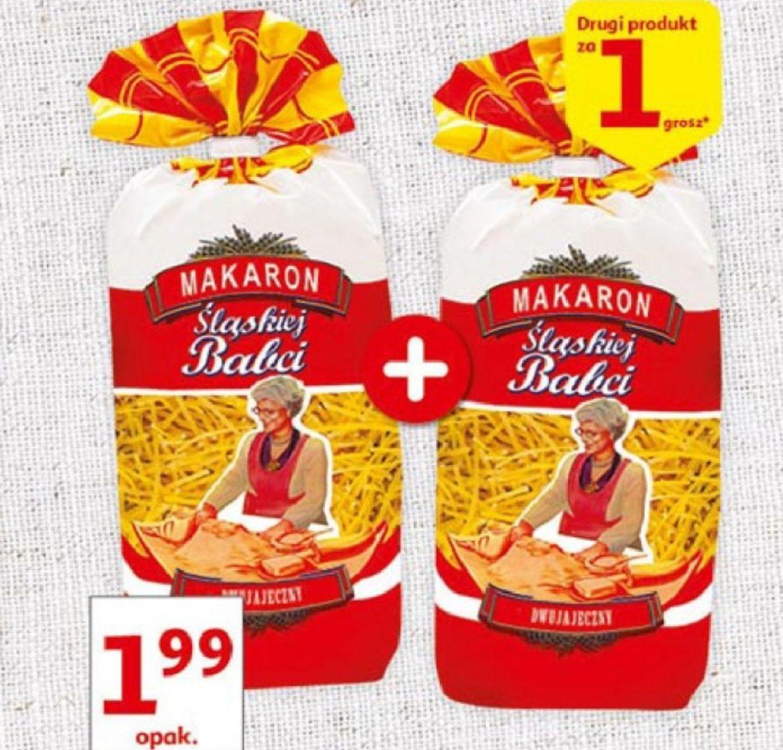 Od jutra 18.04 Makaron 1+1 za grosz Auchan
