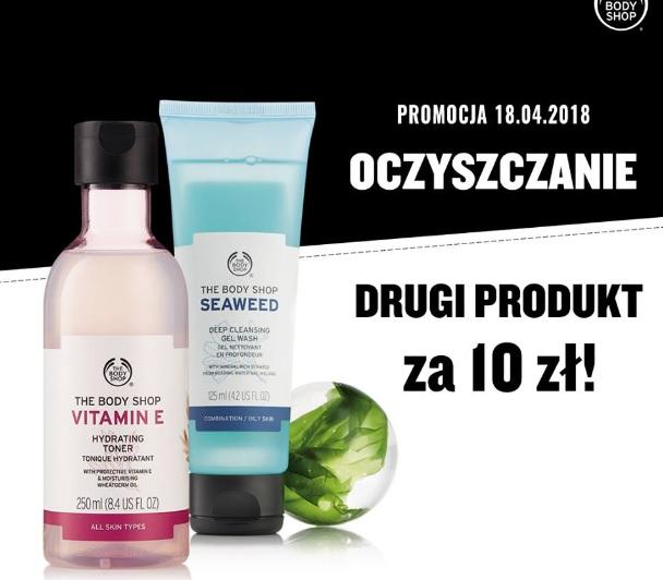 Drugi produkt do oczyszczania twarzy za 10zł @ The Body Shop