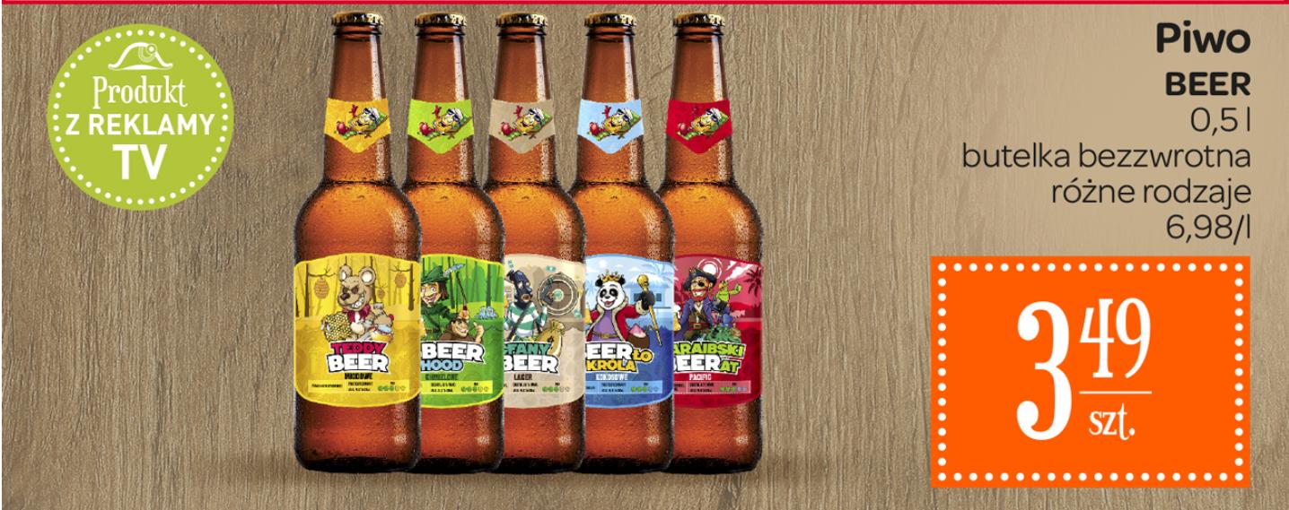Piwo Beer w Carrefour różne rodzaje