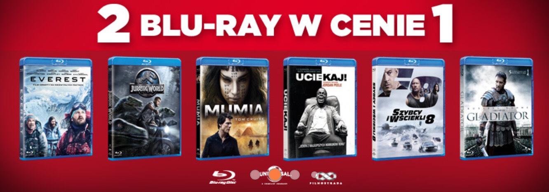 2 filmy Blu-ray w cenie 1 (25zł\szt) MOŻLIWE 13,50ZŁ/SZT! - Empik