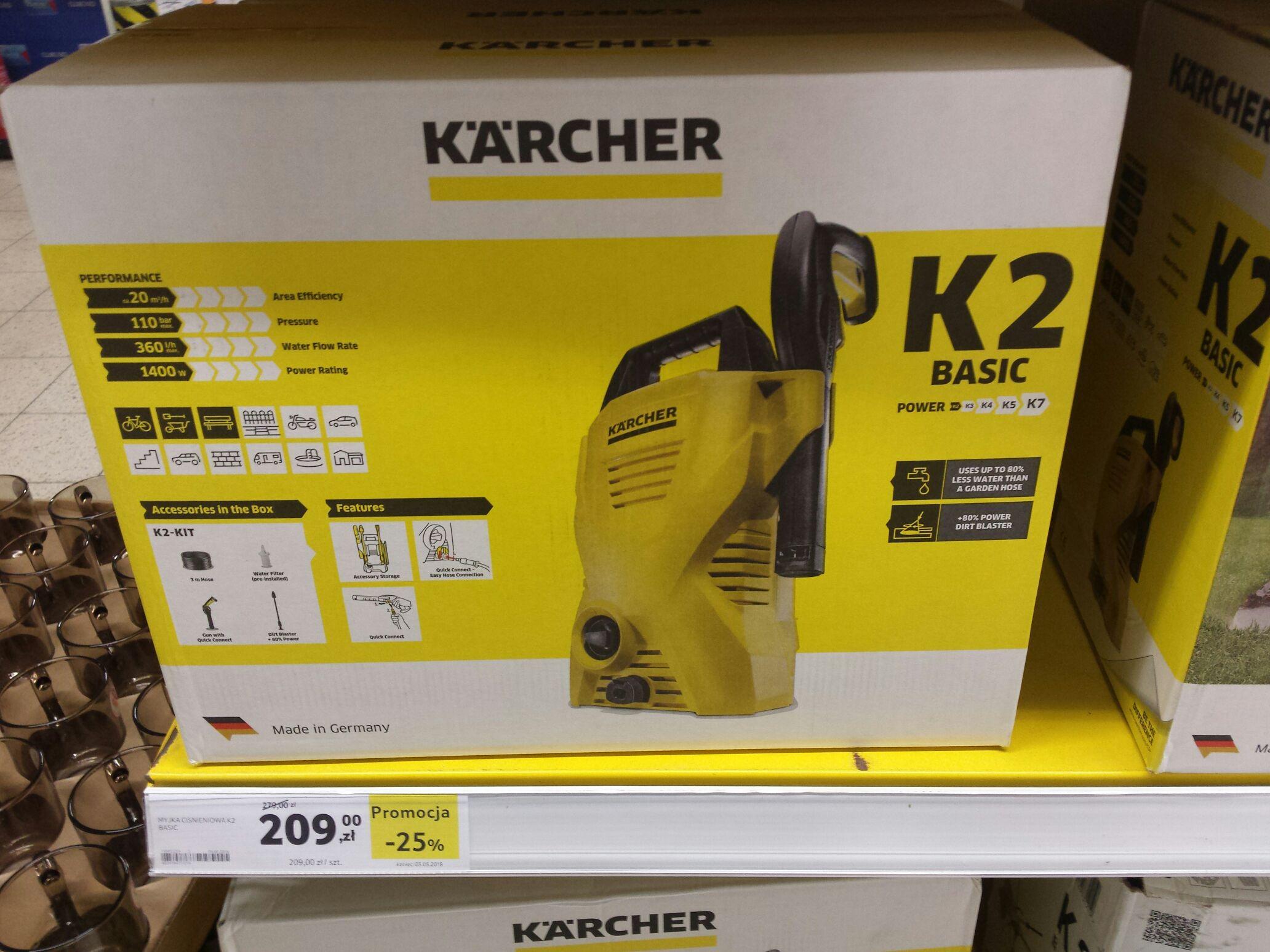 Myjka ciśnieniowa Karcher K2 Basic