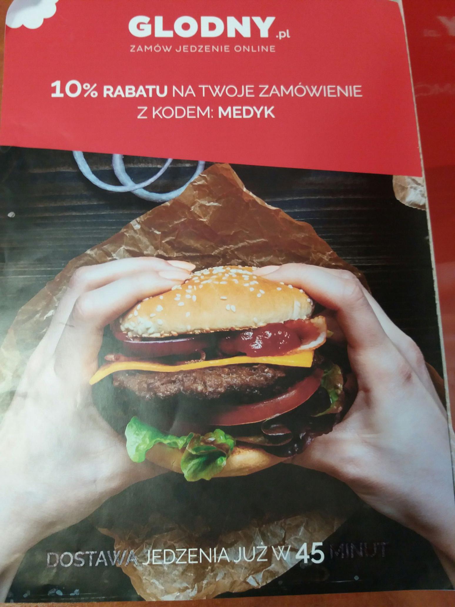 10% rabatu glodny.pl Poznań