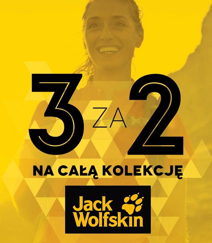 3 za 2 na całą kolekcję @ Jack Wolfskin