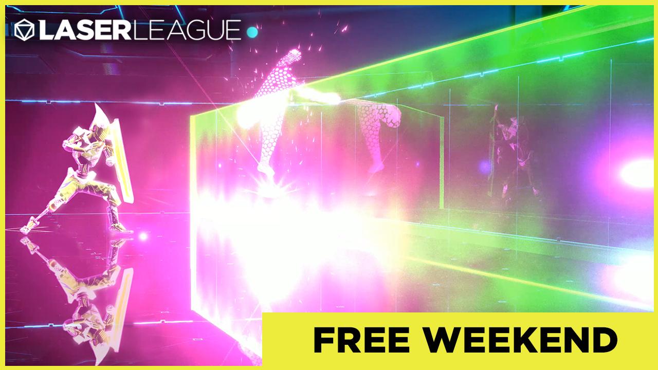 Laser League - 3 dni gry za darmo na Steam