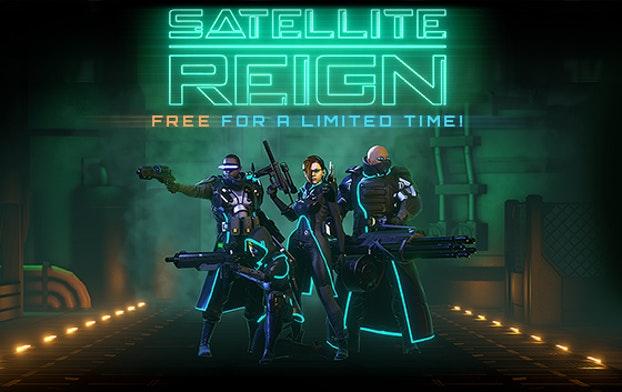 SATELLITE REIGN - klucz STEAM za free