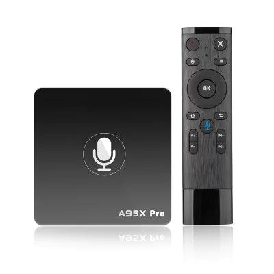 "Nexbox A95X Pro 2GB/16GB (Android 7.1) z pilotem ""voice control"""