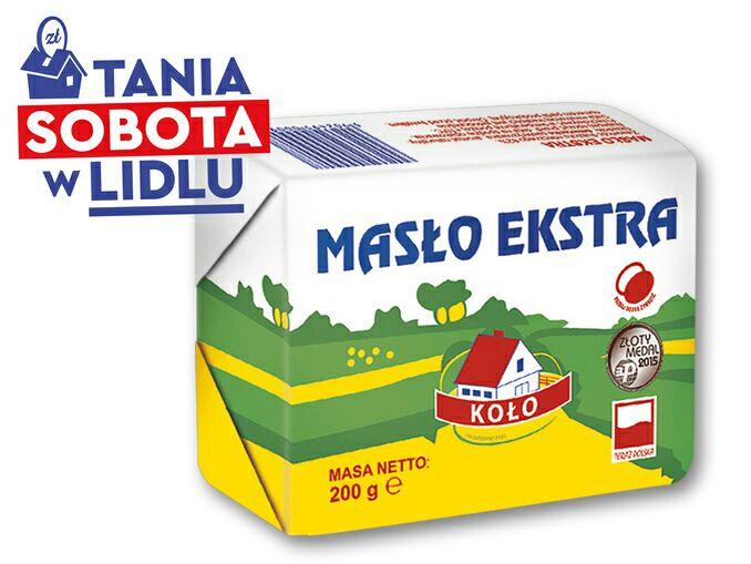 Jutro masło w lidlu