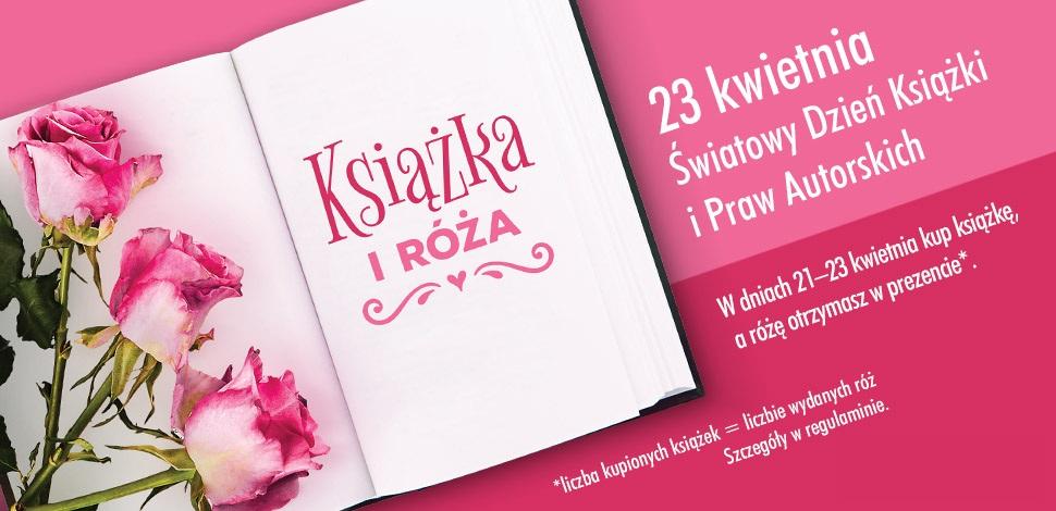 Darmowe róże za kupione książki w biedronce [21-23.04]