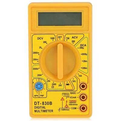 Miernik - DT - 830B 1999 Digital Multimeter Handheld AC / DC Tester