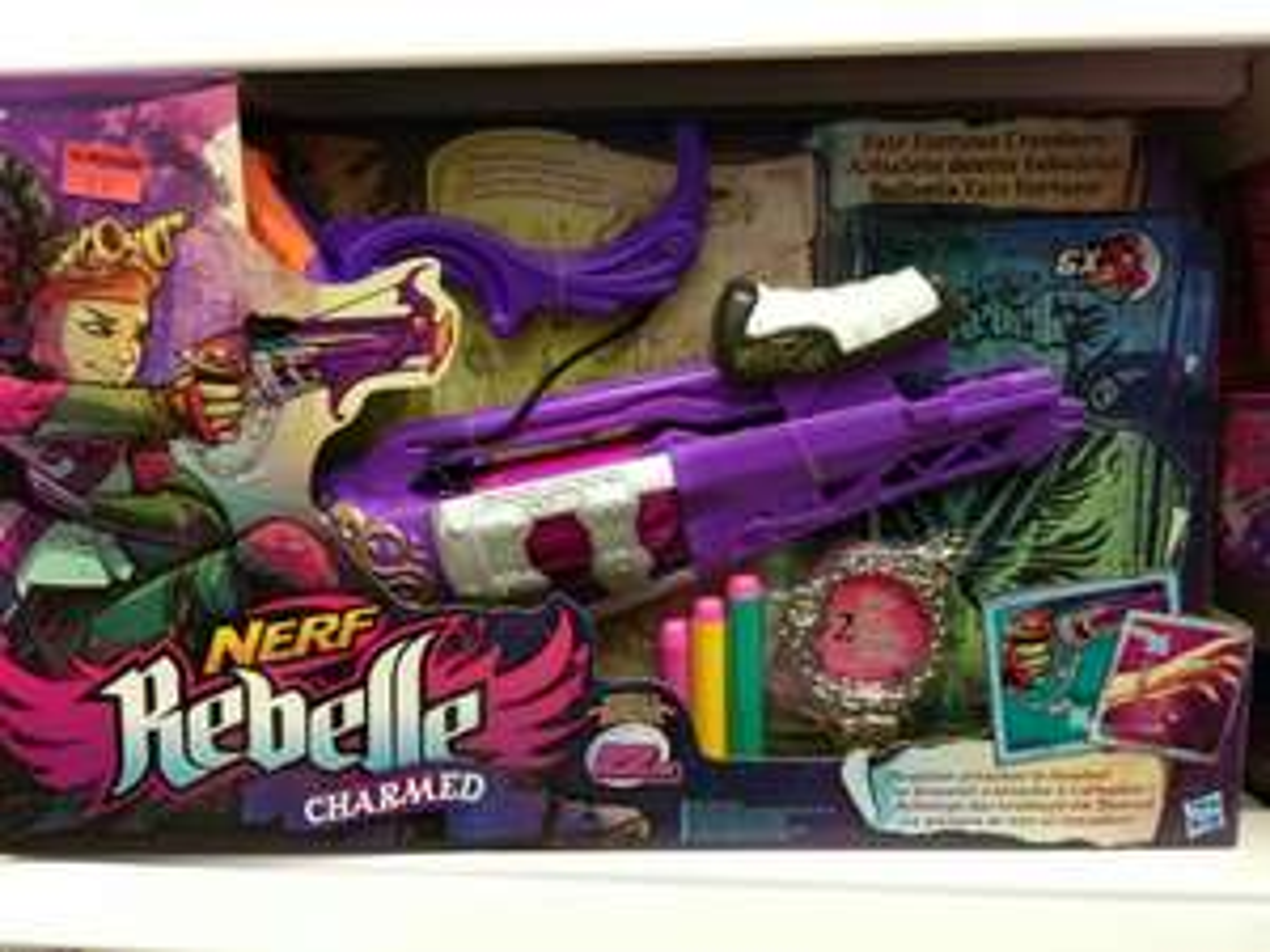Blastery Nerf Fair Fortune (łuk) i Dauntless (pistolet) w Pepco