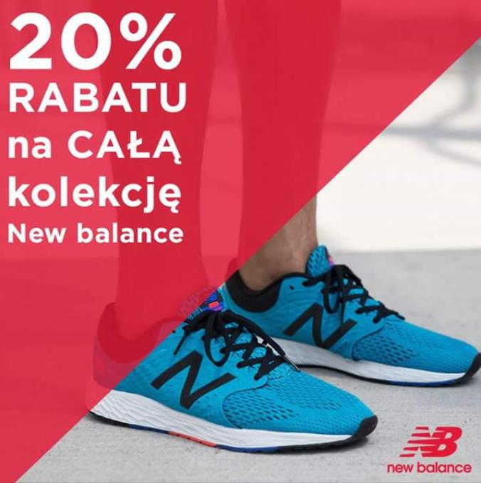 20% zniżki na New Balance