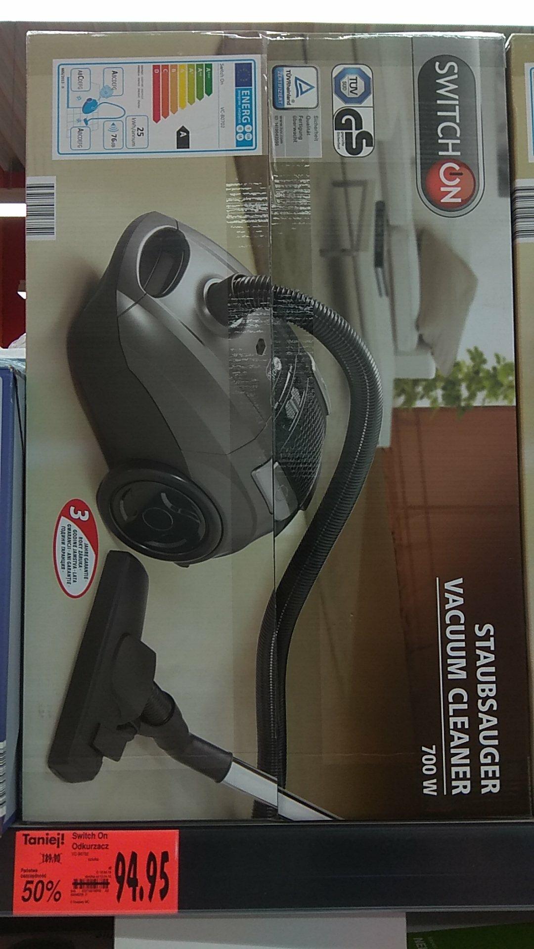 Switch ON odkurzacz moc 700w 3lata Gwarancji Kaufland