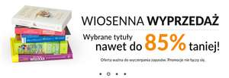 Wyprzedaż z rabatami do 85% (ceny od 4zł) @ Prószyński