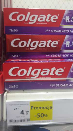 Colgate max cavity White @ Tesco