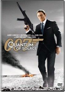 James Bond Quantum of Solace i Skyfall DVD