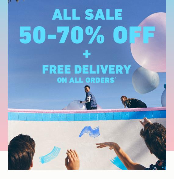 Hollister - wyprzedaż do 70% i darmowa dostawa