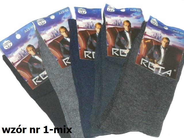Skarpety ROTA mix lub czarne -zakup w aplikacji!! 20par za 29,99 (zwrot 5monet)