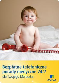 Bezpłatne telefoniczne porady medyczne + e-book dla młodych rodziców @ Aviva