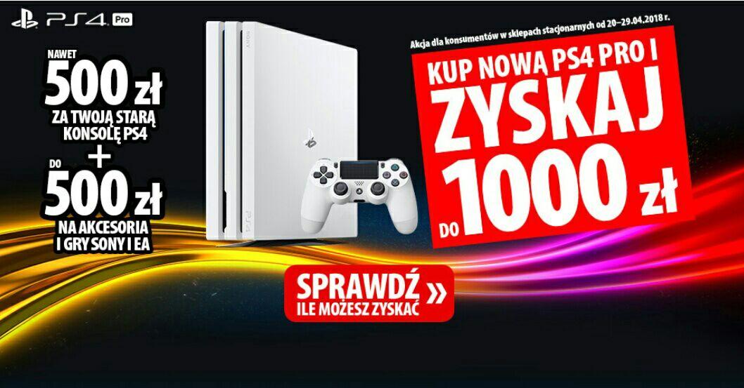 Wymień starą PS4 na nową PS4 PRO